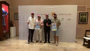Presentació de la segona edició de 'Posa't la gorra' a Montblanc.