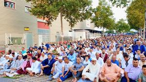 Prop de 4.000 persones es van aplegar a la mesquita de Reus As-sunnah per la Festa del Xai 2019