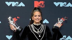 Rosalía triunfó en los MTV Music Video Awards