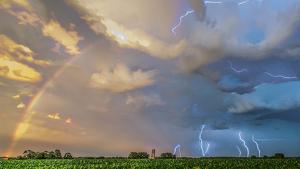 Sábado con tormentas de tarde en el interior
