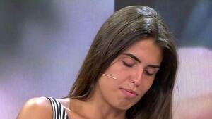 Sofía Suescun, visiblemente conmocionada por lo sucedido