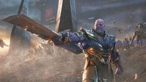 Thanos (Josh Brolin) en la batalla final de 'Endgame' (2019)