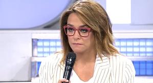 Toñi Moreno es va mostrar molt disgustada amb la parella