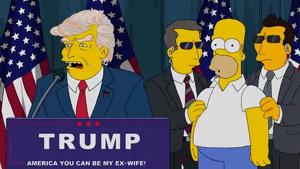 Trump es mofado en 'Los Simpsons'