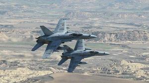 Un avió de l'Exèrcit espanyol cau al mar a Múrcia