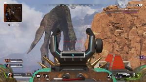 Un leviatán en el punto de mira de un jugador de 'Apex Legends'