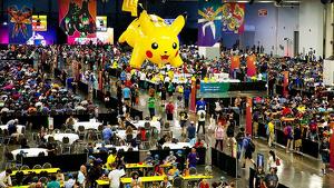 Una de las pasadas ediciones del Mundial de Pokémon