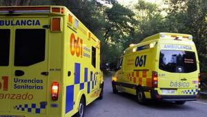 Urxencias Sanitarias de Galicia-061 ha mandado ambulancias