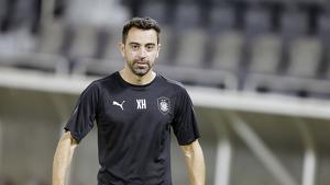 Xavi Hernández, entrenador de l'Al-Sadd