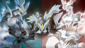 Zekrom, Kyurem y Reshiram, la tríada legendaria de 'Pokémon Negro y Blanco'