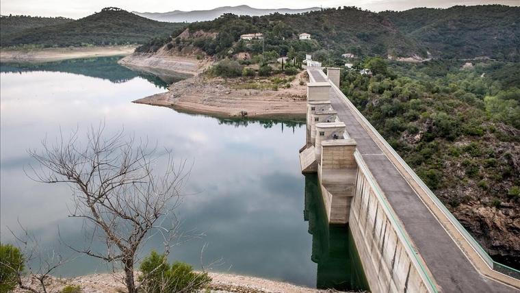 Imagen de archivo de un pantano en el norte de Cataluña