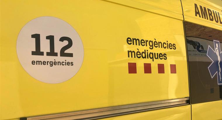 Imatge d'arxiu d'una ambulància del SEM