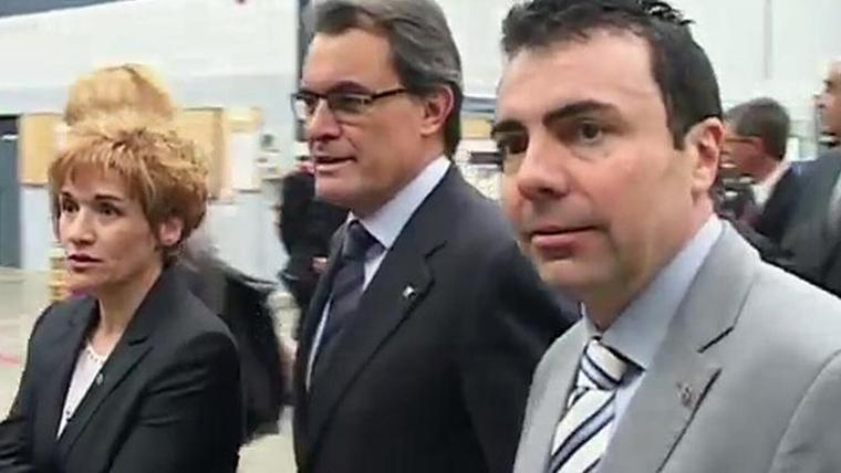 Jordi Soler amb Artur Mas