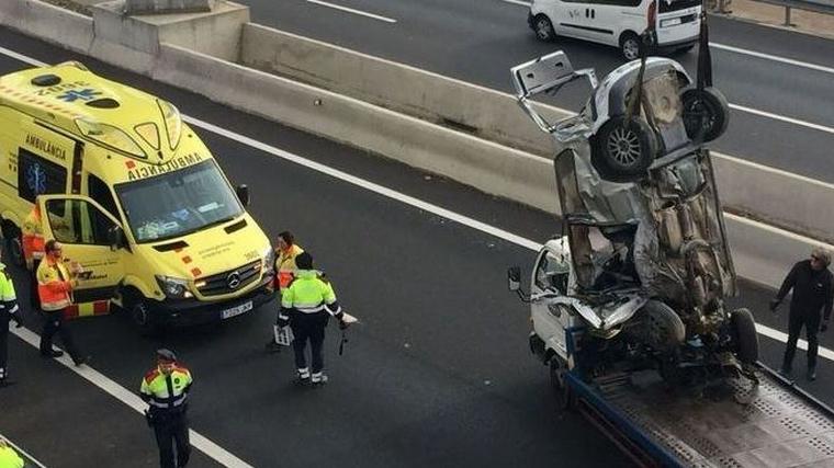 Accident T-11 Tarragona