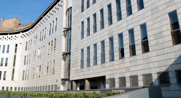 Pla general de l'edifici dels jutjats de Lleida