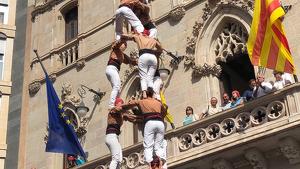 3de8 dels Xiquets de Reus a la diada Emili Miró de Terrassa