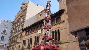 3de9f descarregat per la Colla Vella dels Xiquets de Valls a la diada de Sant Miquel de Lleida