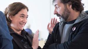Ada Colau ha desmentit els rumors que la relacionen amb Òscar Camps