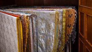 Alguns dels mantons de la Mare de Déu de Misericòrdia