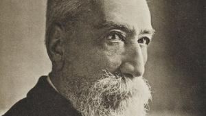 Anatole France, ganador del Premio Nobel de Literatura en 1921.