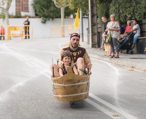 Baixada de carros a la Festa Major de Bellaterra de 2018
