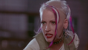 Buck, interpretada por Lori Petty en el film del 95