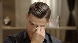 Cristiano Ronaldo no va poder reprimir les llàgrimes en parlar del seu pare