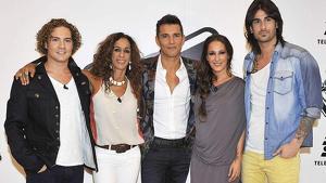 David Bisbal, Malú y Melendi cuando eran compañeros en 'La Voz'