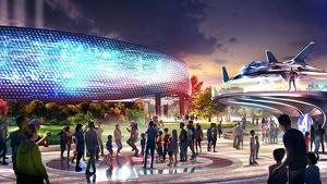 El 'Avengers Campus' abrirá en 2020 y estará inspirado en todo el universo de los Vengadores.