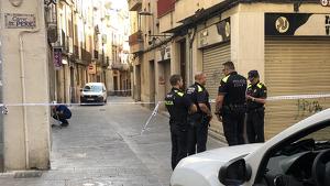 El carrer Sant Antoni ha quedat tallat.