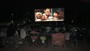 El cinema a la fresca dels Dijous d'Estiu és l'activitat més multitudinària.