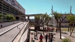 El Jardí de les Papallones s'ubica al bell mig del Campus Sescelades de la URV.