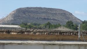 El 'Monte Montrotón' vist des d'Alborache