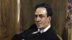 El poeta, escritor y dramaturgo Antonio Machado.