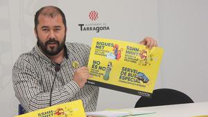 El portaveu municipal, Xavi Puig, ha anunciat les mesures que s'implementaran durant les festes de Santa Tecla.