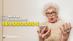 El pot d'Euromilions es situava en 149 milions d'euros