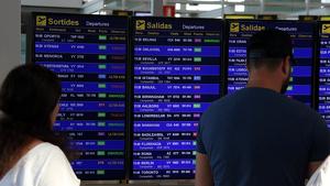 El Prat està entre els quatre aeroports amb més retard del món