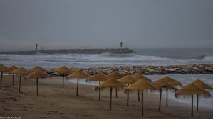 El temporal de mar ha sido muy fuerte estos días en el Mediterráneo