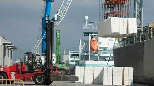 El tràfic de pasta de paper és un dels més potents cada any per al Port de Tarragona