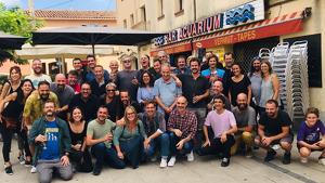 Els actors i equip tècnic de 'Ventdelplà' es retroben deu anys després
