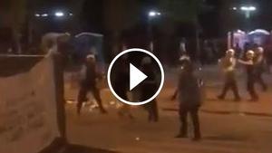 Els aldarulls han acabat amb nou detinguts i quatre ferits
