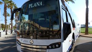 Els autobusos Plana, els responsables de la majoria de transport públic per carretera al Camp de Tarragona.