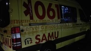 En estado grave un motorista de 32 años tras chocar con un coche en Formentera