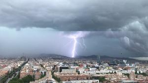 És l'enèsima tempesta que afecta l'àrea de Barcelona aquests dies