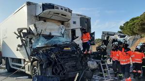 Estado en que han quedado los vehículos implicados en el accidente