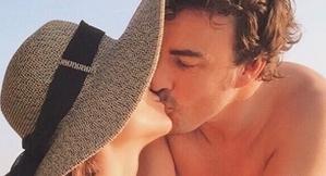 Fernando Alonso i Linda Morselli porten més de dos anys de relació