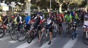 Fotografia del Dia de la Bicicleta 2018 de les Borges Blanques