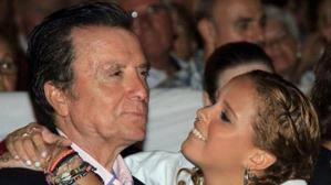 Gloria Camila con Ortega Cano.