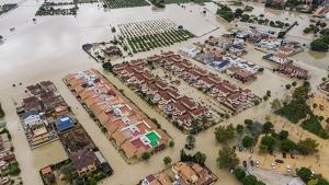 Graves inundaciones en la Vega Baja del Segura