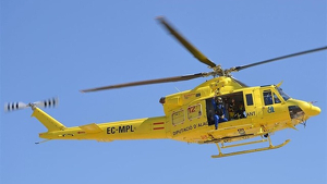 Helicòpter del Consorci, imatge d'arxiu